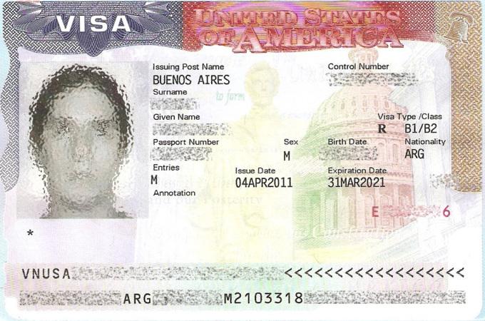 USA Visa Argentina
