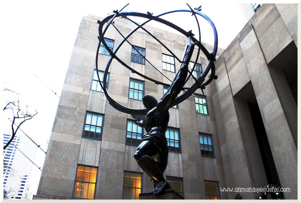 Escultura del Atlas
