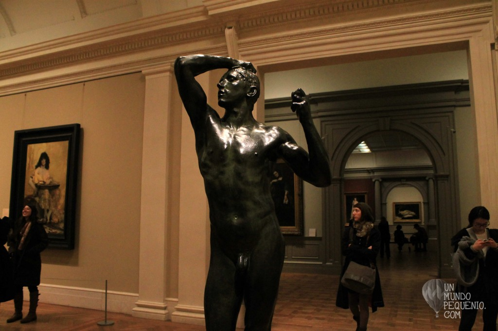 Escultura masculina europea del Siglo XVIII