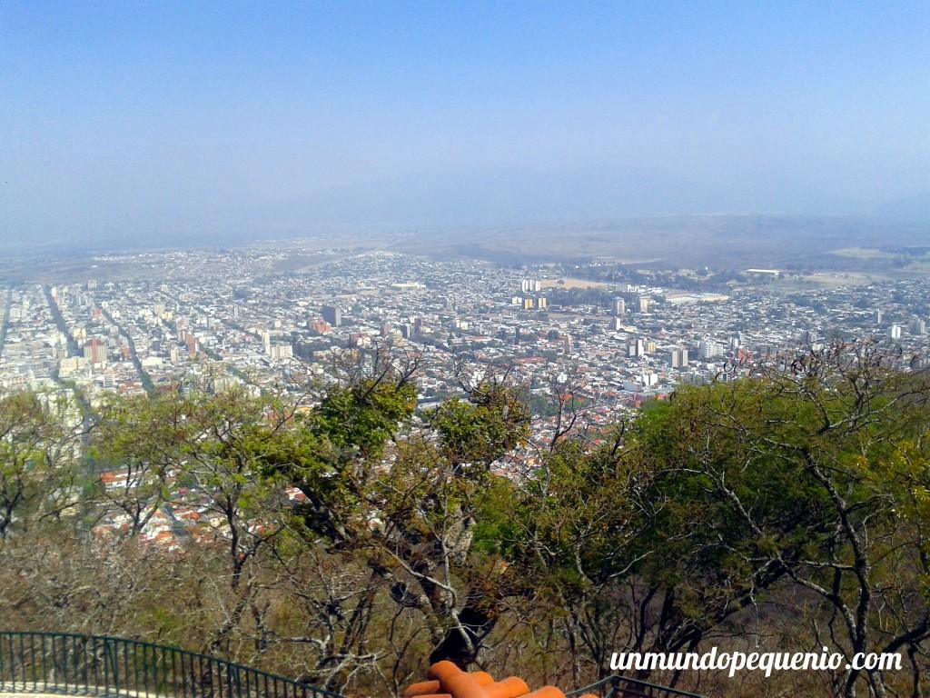Vista desde el Cerro San Bernardo Salta