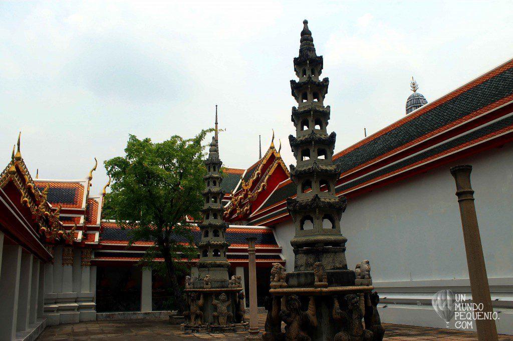 Wat Pho Little chedis