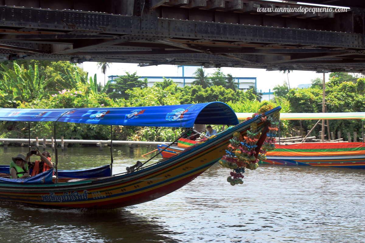 Taling Chan long tail boat