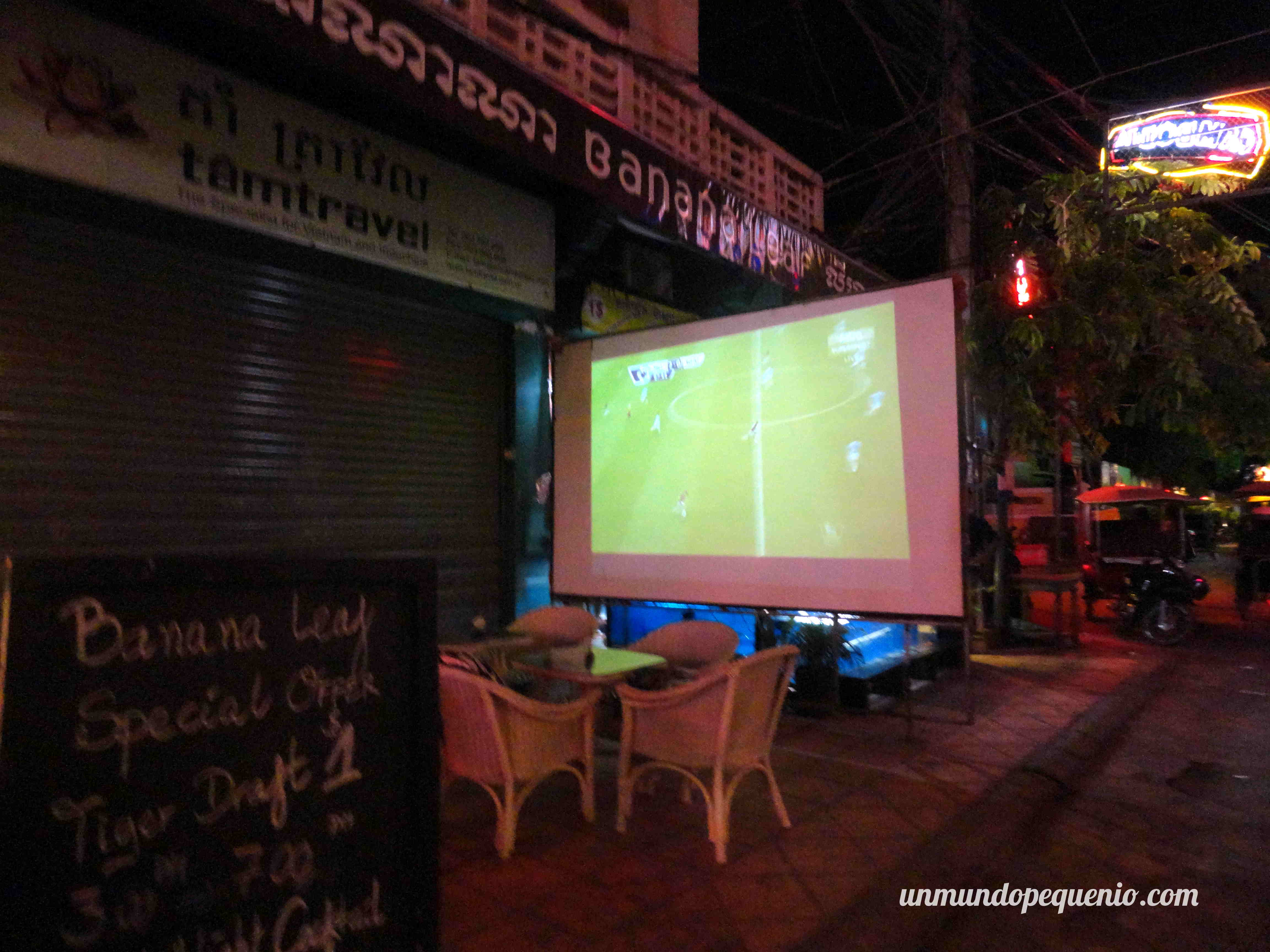 Ver fútbol en Pub Street