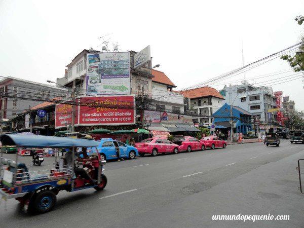 Tuk Tuk en Khao San Road