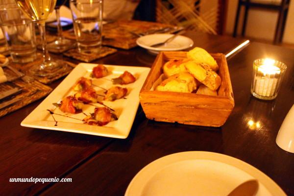 Cena en La Merced del Alto