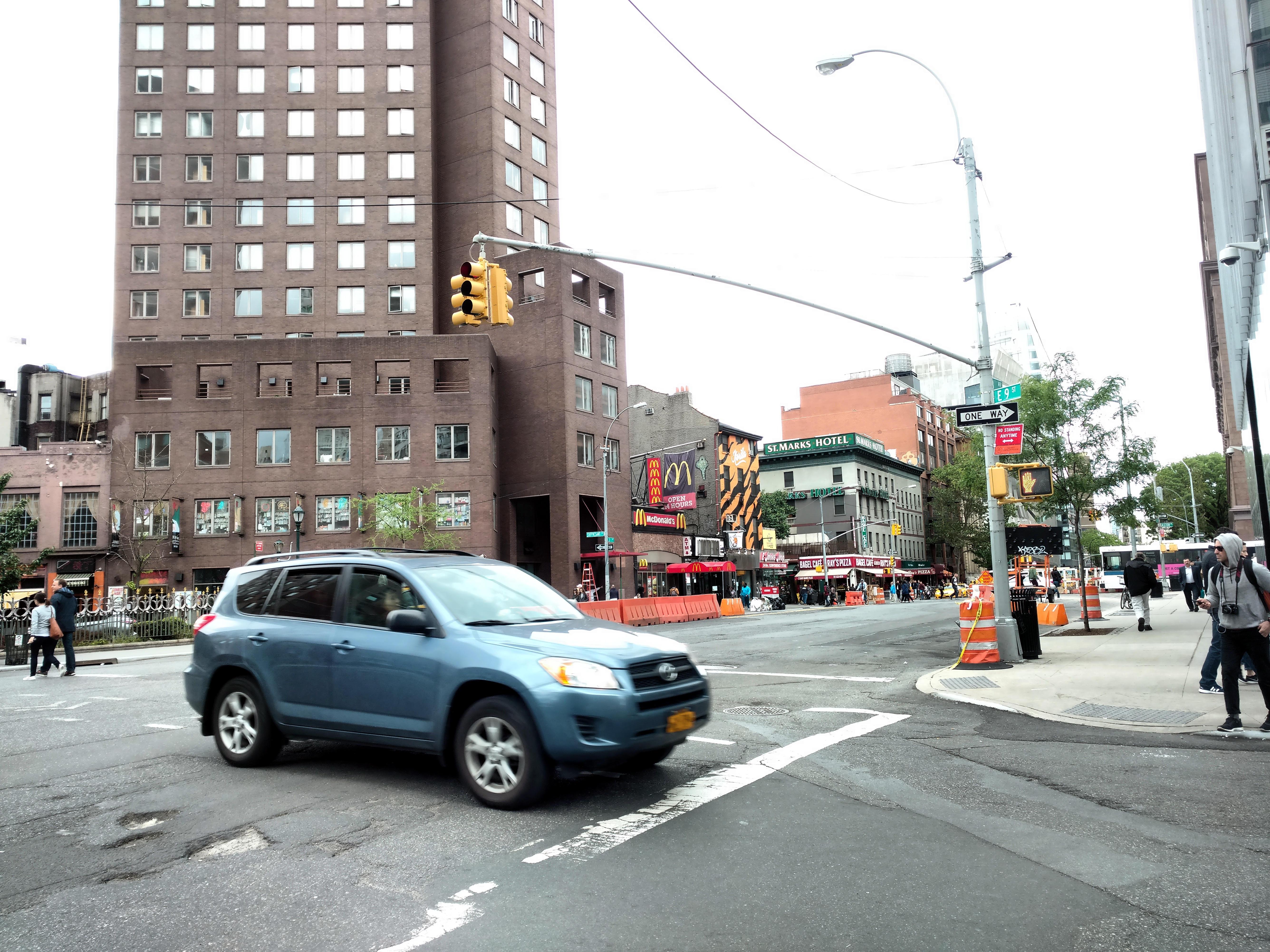 Auto en Manhattan