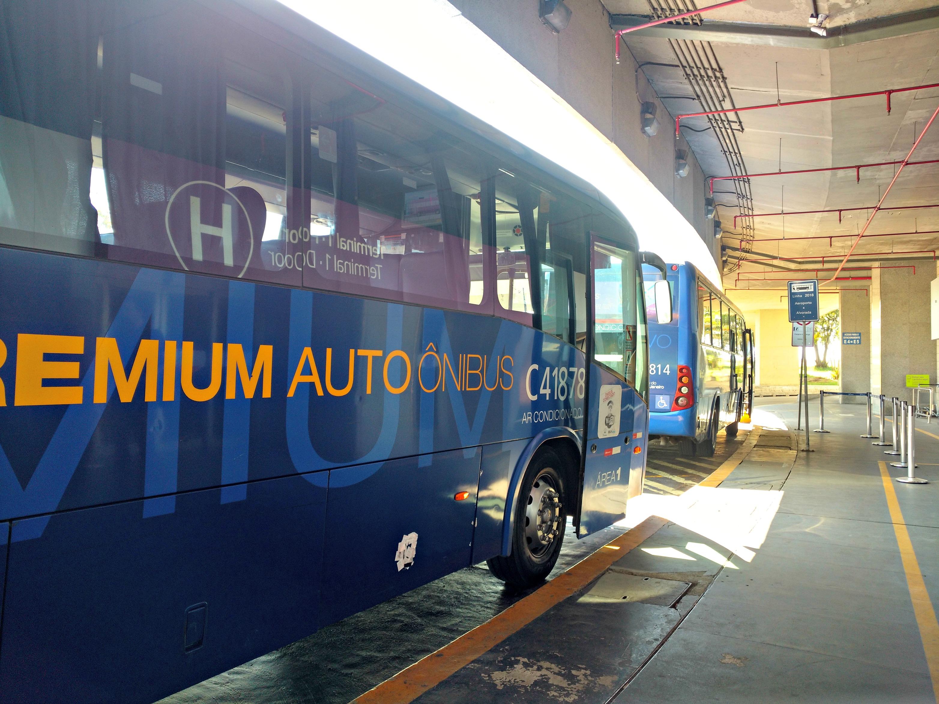 Bus premium Río de Janeiro
