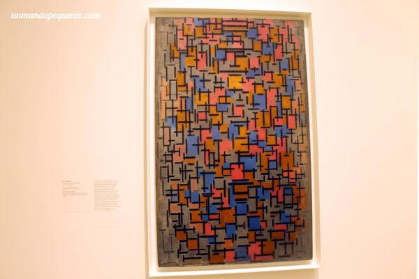 Composición - Piet Mondrian 1916