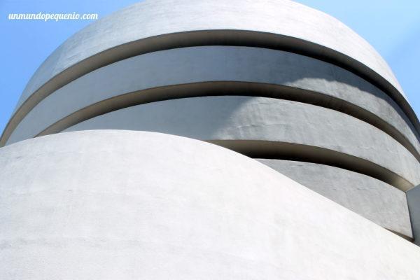 Museo Guggenheim Nueva York por fuera