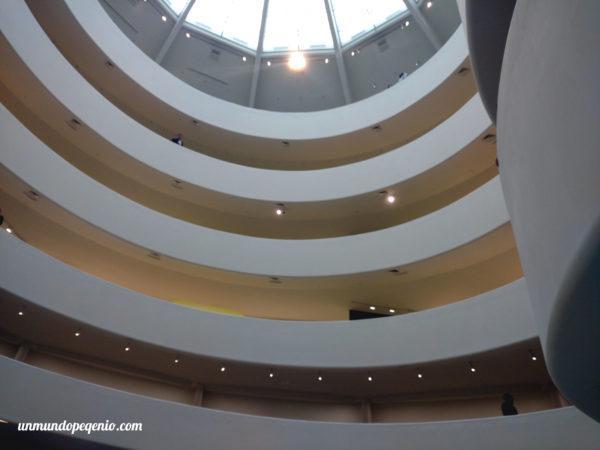 Museo Guggenheim desde la planta baja