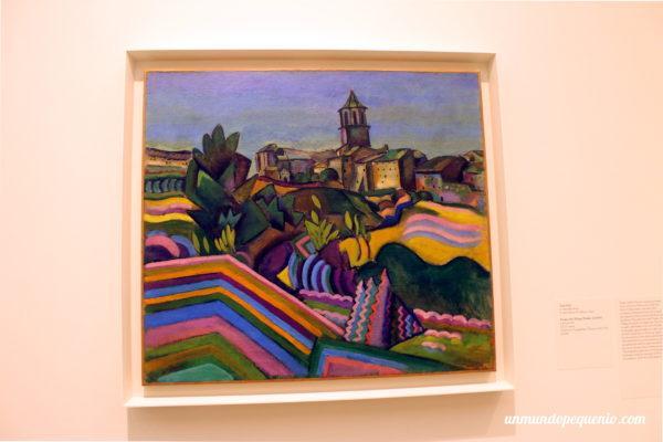 Prades, el pueblo - Joan Miró 1917
