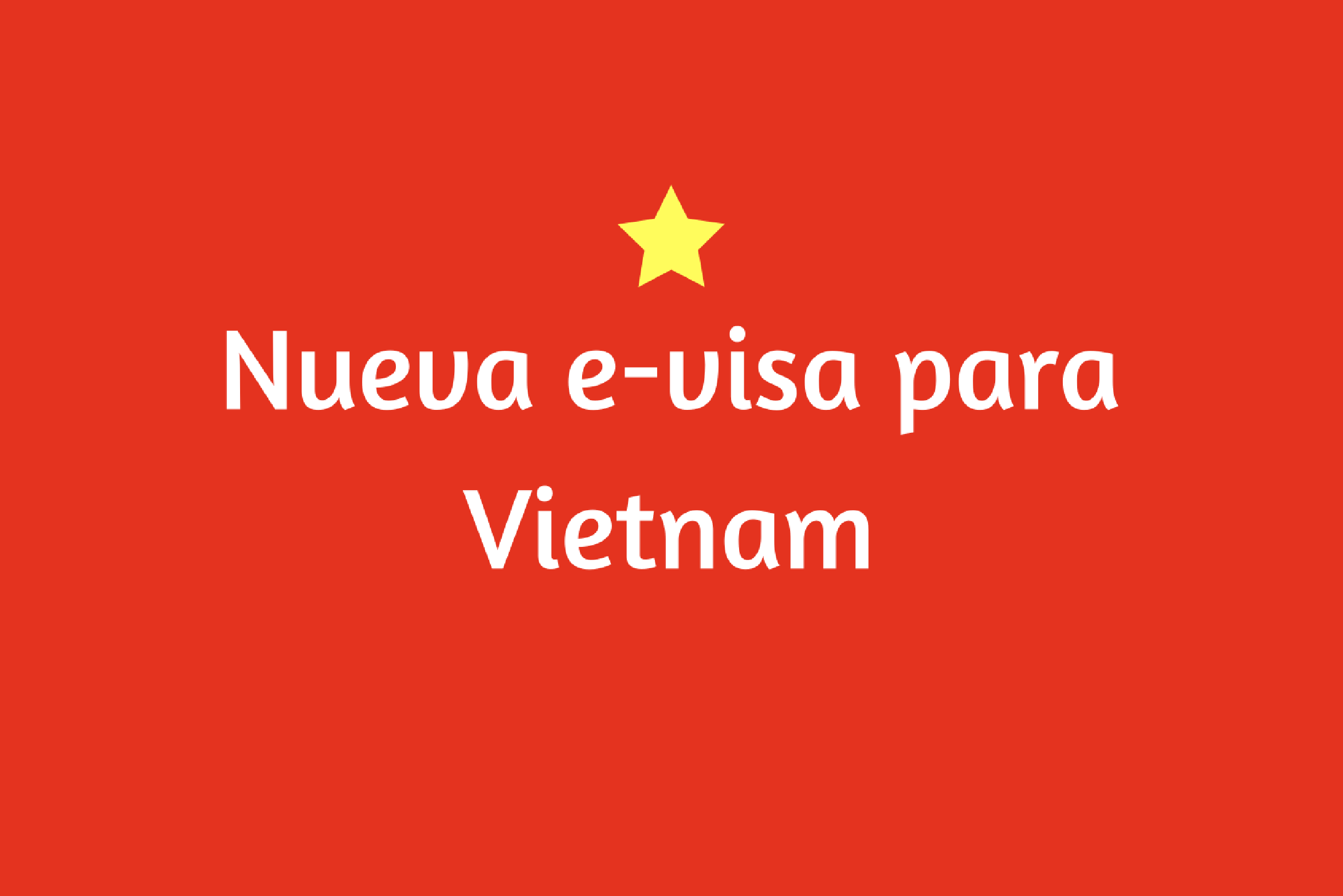 E-visa para Vietnam