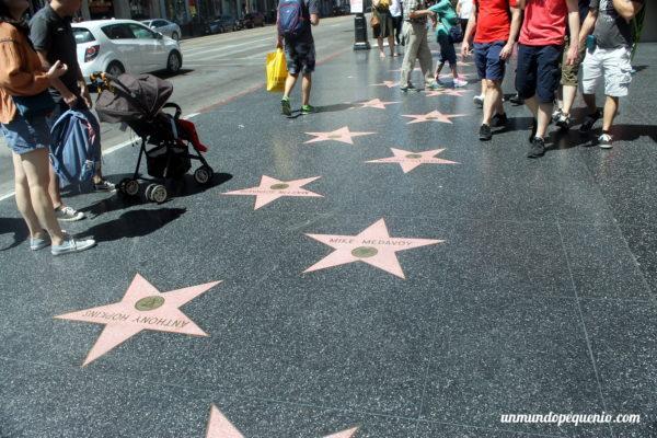 Estrellas del paseo de la fama