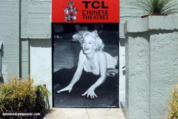 Marilyn Monroe en el Teatro Chino