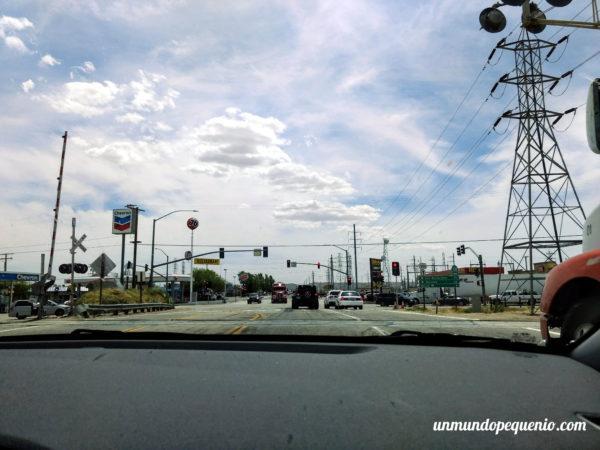 Una Chevron en el camino