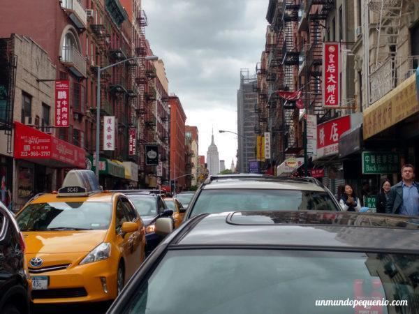 El barrio chino de Nueva York