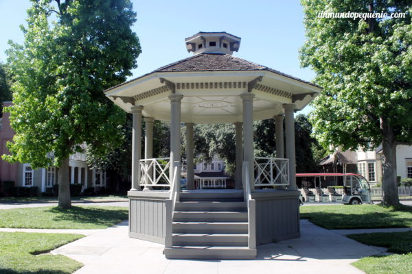 El gazebo de Gilmore Girls