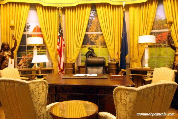 El set del Salón Oval