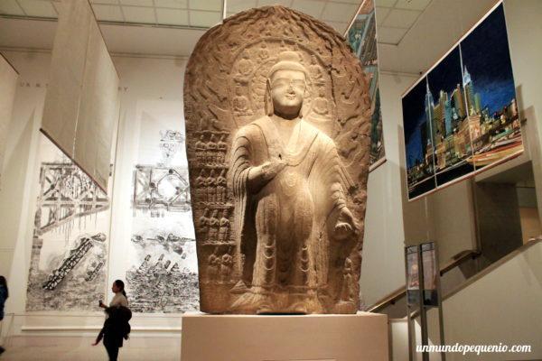Escultura asiática en el Met