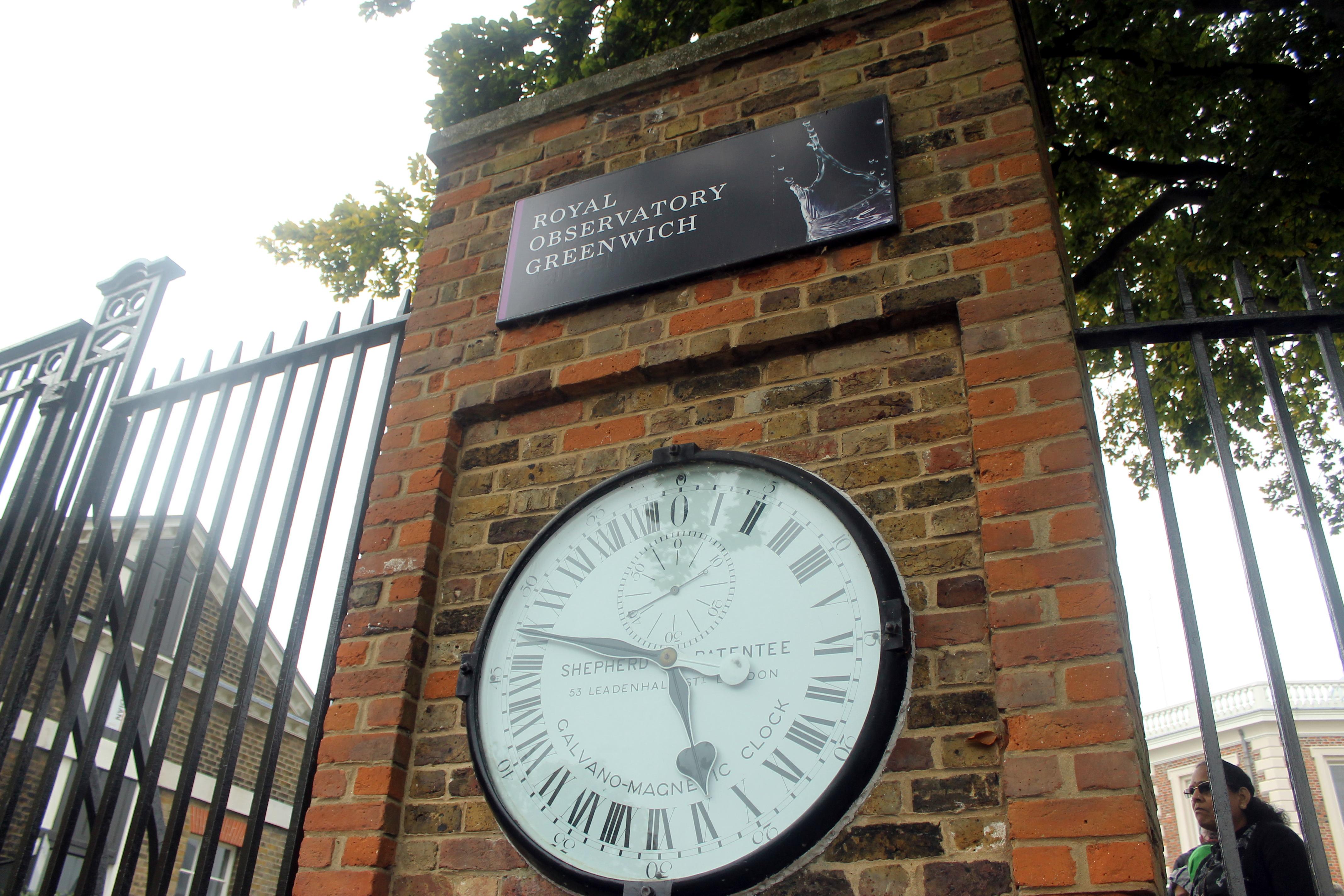 Reloj del Observatorio de Greenwich