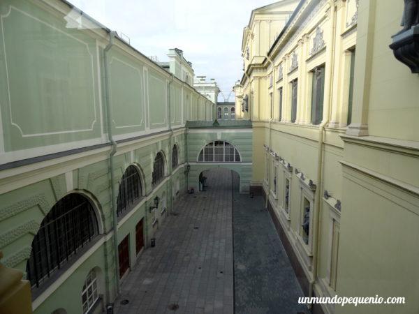 Patio interno del Hermitage