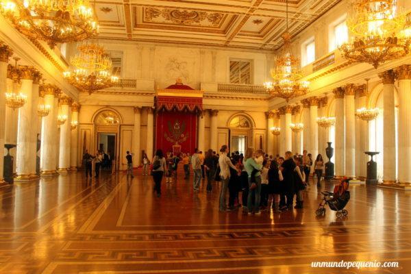 Salón de San Jorge (o del Trono)