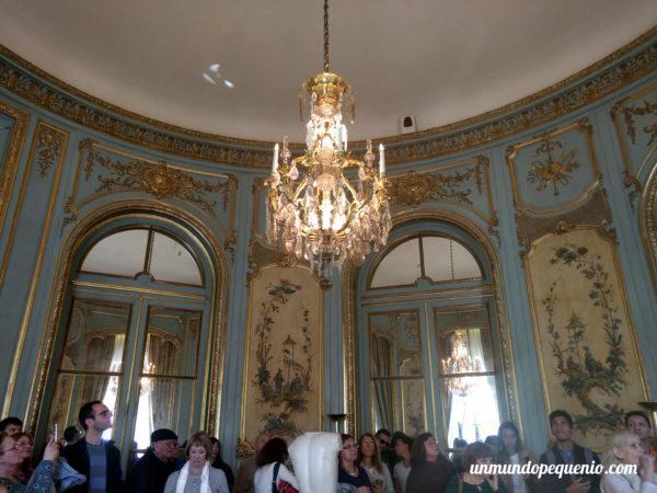 Salón de música del palacio Ortiz Basualdo