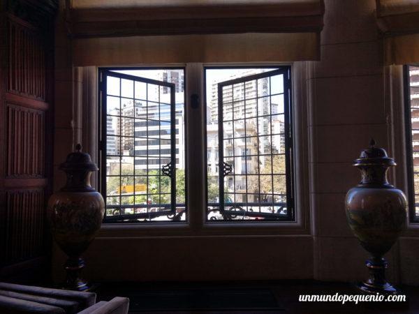 Ventana del jardín de invierno Embajada de Francia