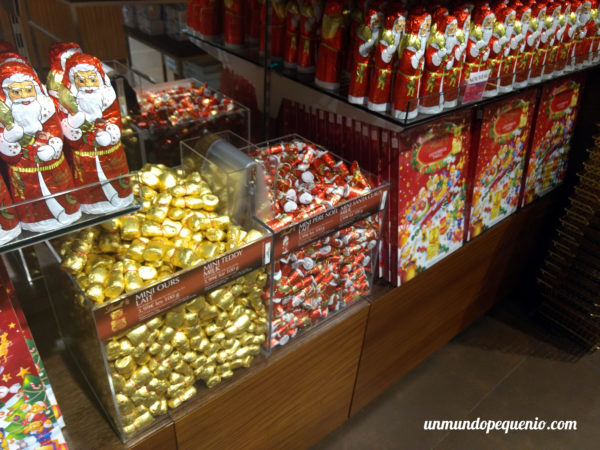 Chocolates navideños Lindt
