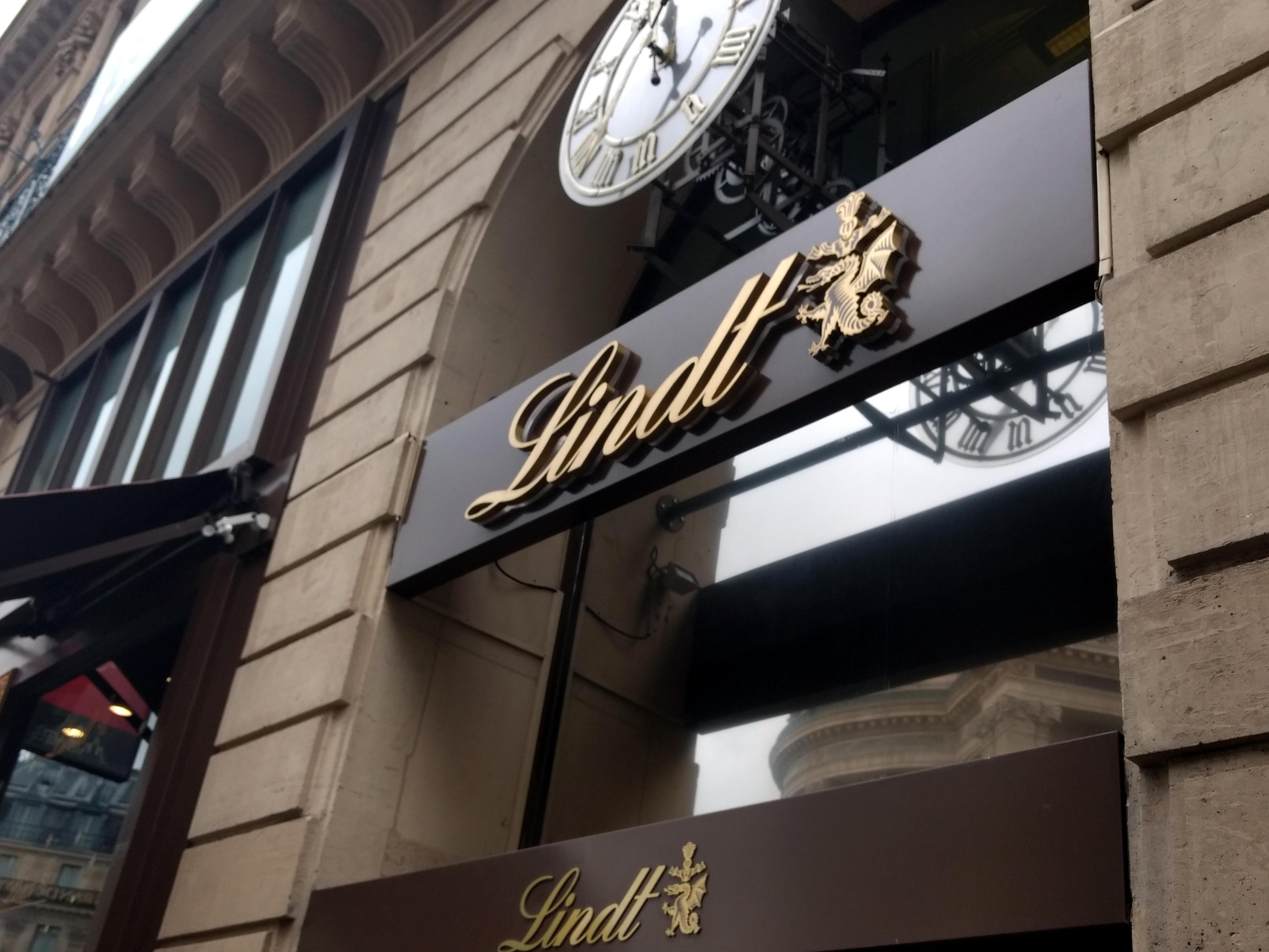 Lindt store en París