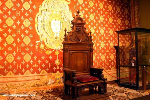Habitación del trono de Chambord