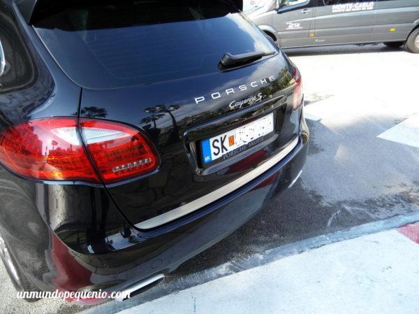 Porsche de Macedonia en Mónaco
