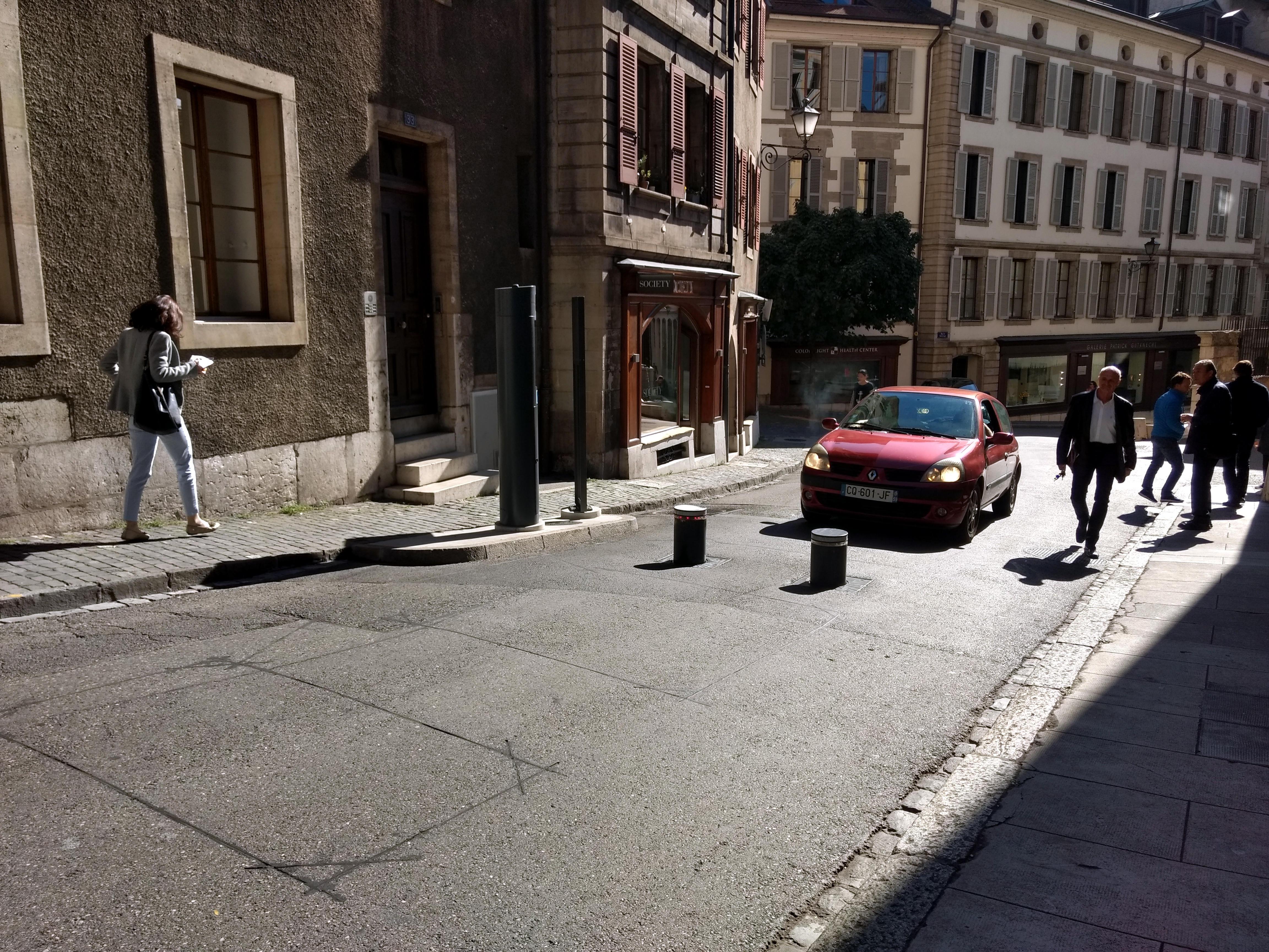 Auto en Ginebra