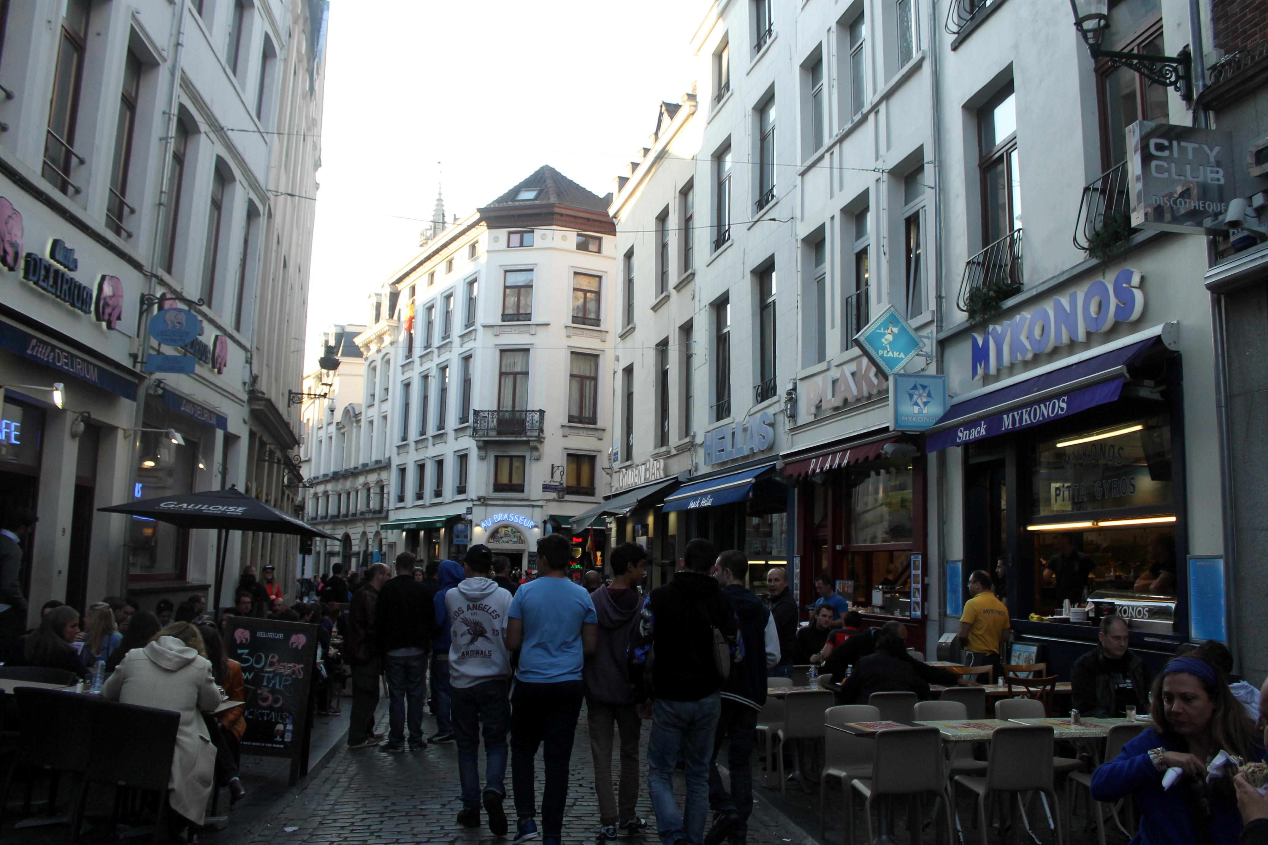 En Bruselas también comen pan
