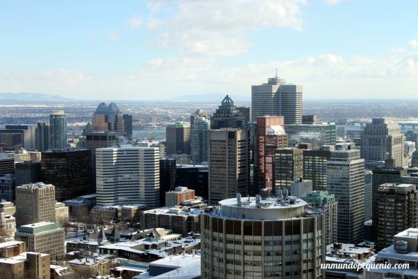 Montreal vista desde el Mont Royal
