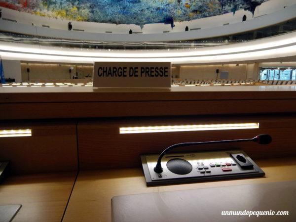Charge de presse