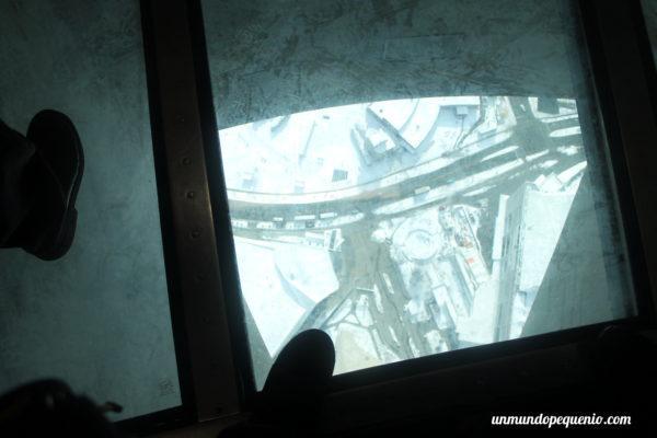 Piso de vidrio CN Tower