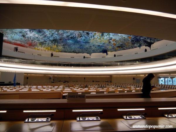 Cúpula de la Sala de los Derechos Humanos y de la Alianza de Civilizaciones