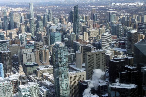 Vista de Toronto desde lo alto