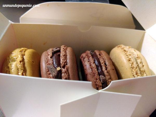 Cajita de macarons de Pierre Hermé