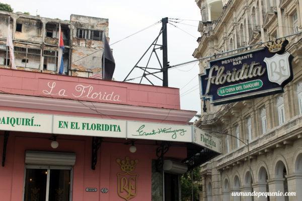 Bar el Floridita en La Habana