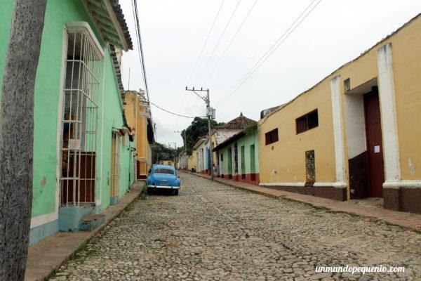 Colorida calle de Trinidad