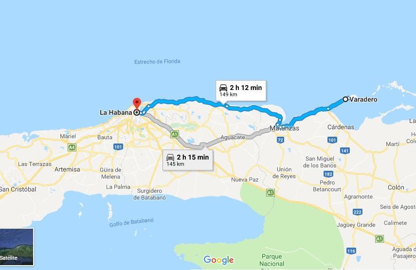 De La Habana a Varadero