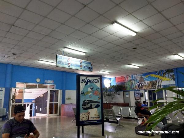 Terminal de Viazul en La Habana