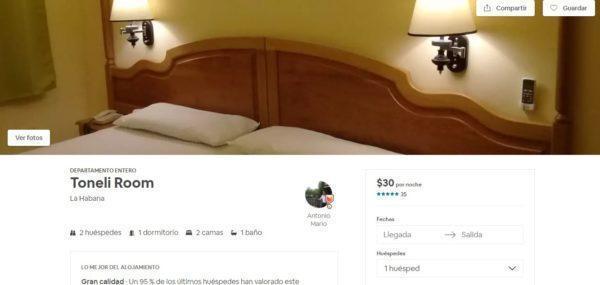 Airbnb de Antonio