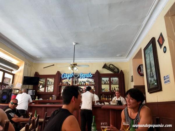 Café París de La Habana