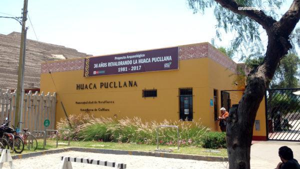 Entrada a la Huaca Pucllana