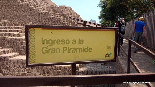 Ingreso a la Gran Pirámide
