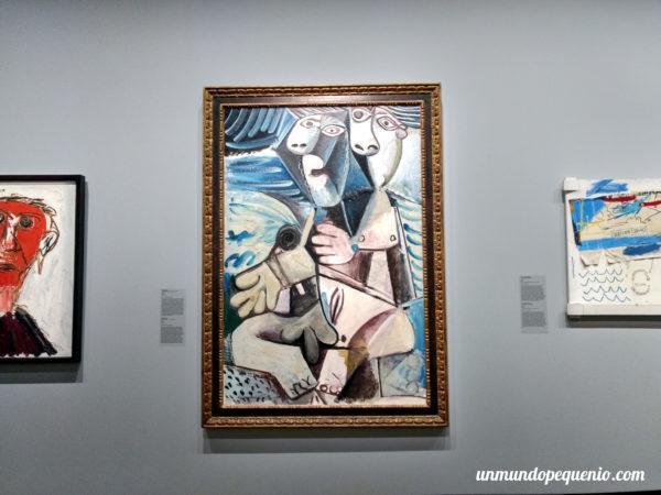 Abrazo - Pablo Picasso