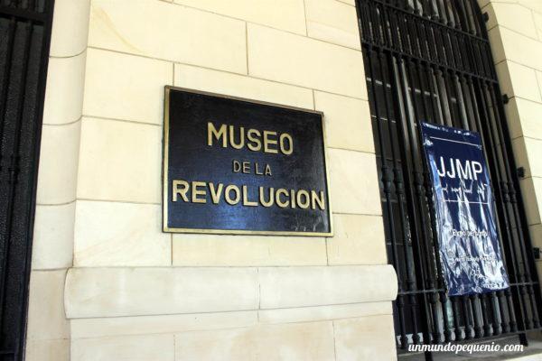 Cartel Museo de la Revolución